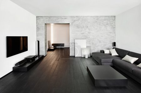 Moderno stile minimalismo salotto i...