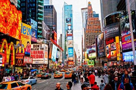 New York City -march 25: Times Squa...