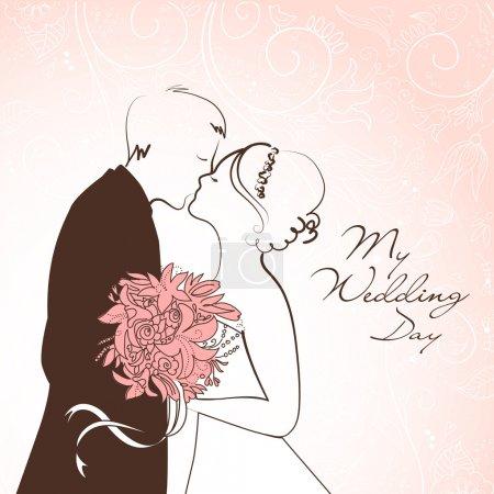 sfondo di matrimonio