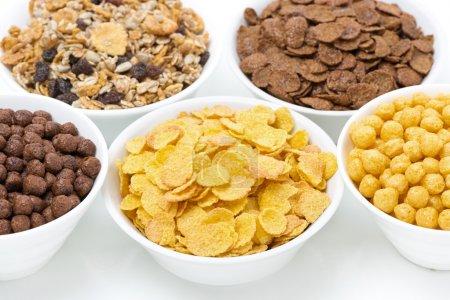 assortimento colazione cereali in c...