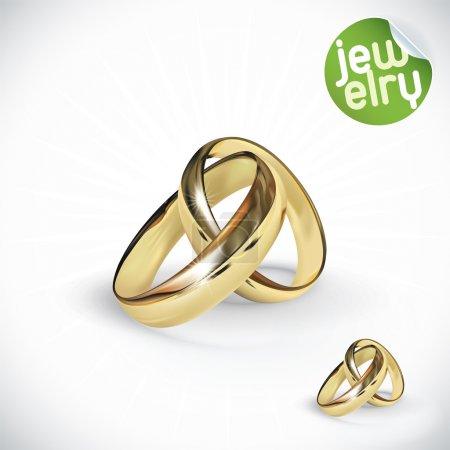 illustrazione di anello vettoriale ...