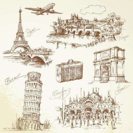 viaggiare in Europa<br>