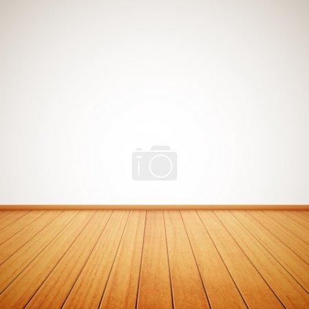 pavimento in legno realistico e par...