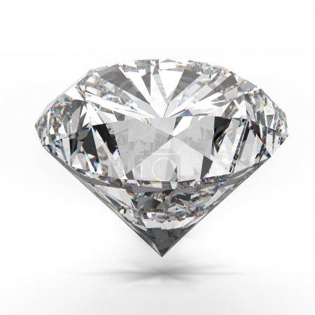 diamanti isolato su bianco