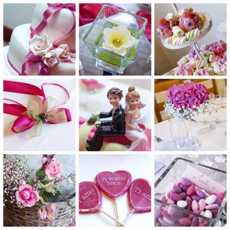 collage di nozze<br>