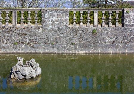 Ipastock stagno in un giardino for Stagno giardino