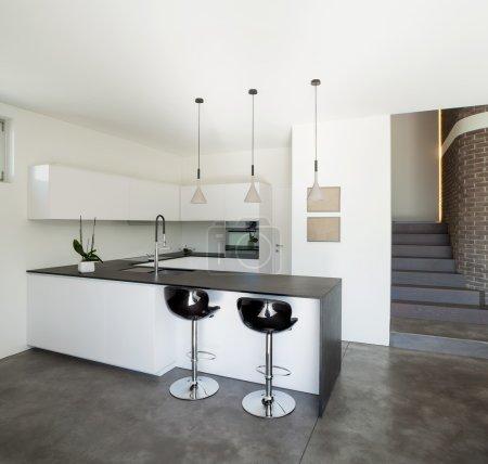 Ipastock interior design moderno appartamento cucina - Carrello cucina moderno ...