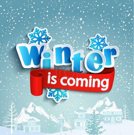 L'inverno è prossimi iscrizione