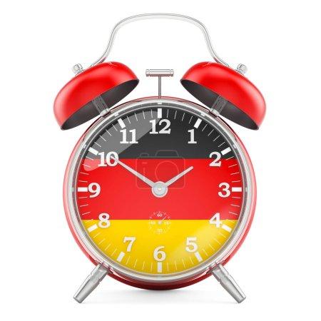 Sveglia con bandiera della Germania...