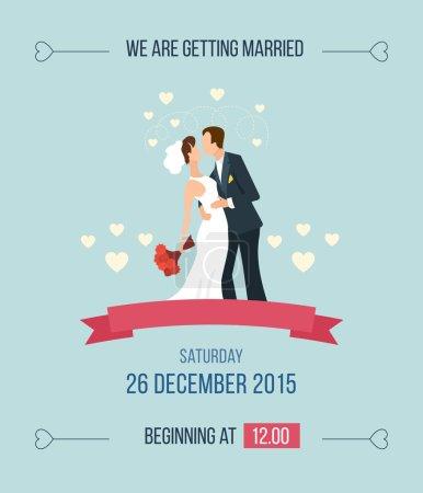 Fumetto di invito matrimonio