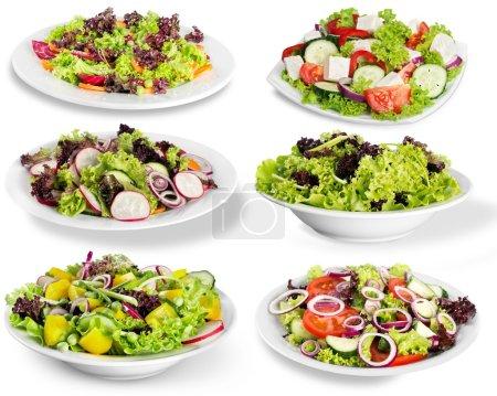Ipastock diversi tipi di insalate - Diversi tipi di trecce ...