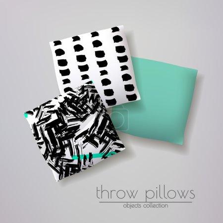 Ipastock modelli 3d realistici di throw pillow for Modelli 3d arredamento