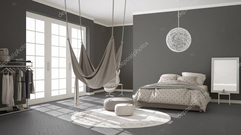 Ipastock camera da letto classica design minimalista for Letto minimalista