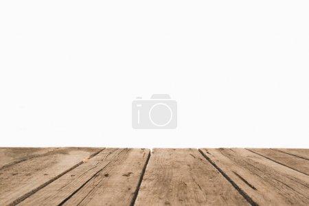 Superficie di assi di legno