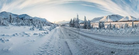 strada di inverno<br>