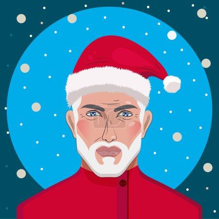 Babbo Natale Uomo Bello.Ipastock Babbo Natale Uomo Bello