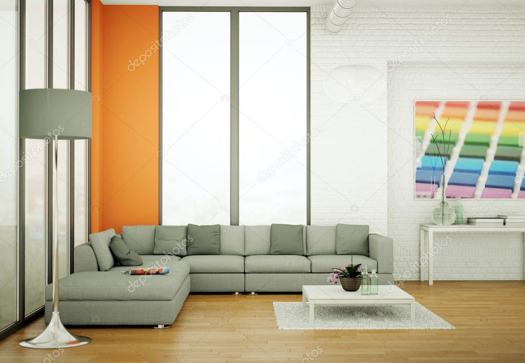 Ipastock appartamento di design d 39 interni moderno for Appartamento design interni