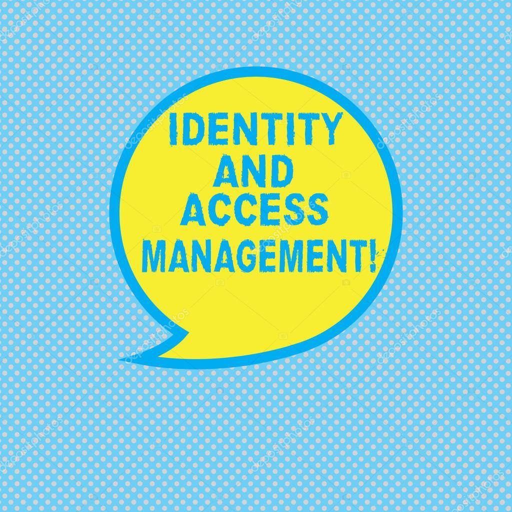 Ipastock segno di testo risultati di identity e access management foto concettuale protezione - Testo a finestra ...
