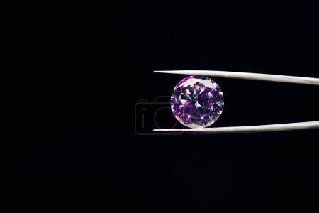 colorato viola diamante scintillant...