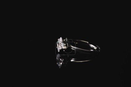 anello di fidanzamento con diamante...