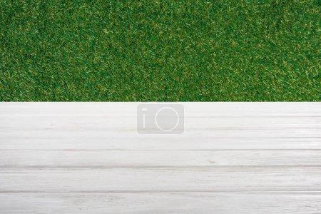 modello di pavimento in legno bianc...