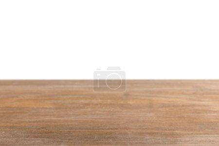 piano in legno rigato marrone su bi...