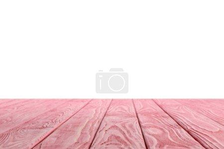 fondo in legno a strisce rosa su sf...