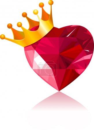 cuore di cristallo<br>