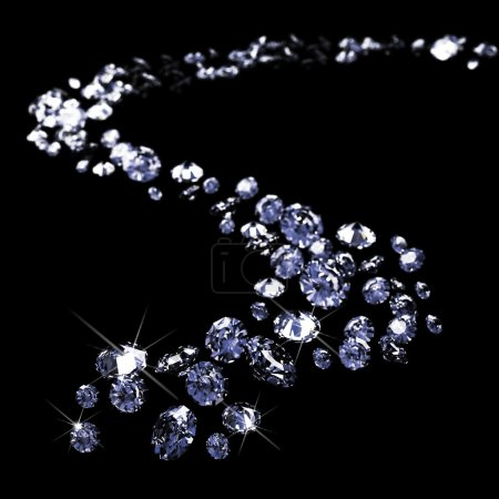 Un sacco di diamanti