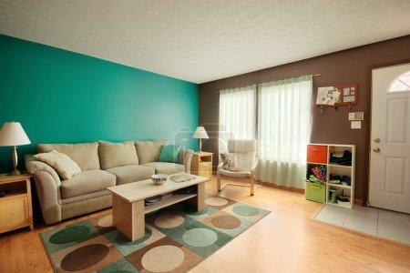 camera familiare alzavola e marrone