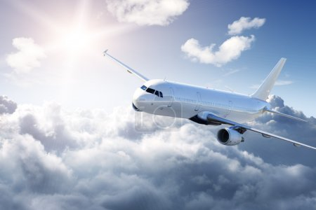 Aereo in cielo - Passeggero aereo d...