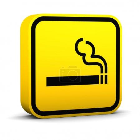 Segnale area fumo <br>