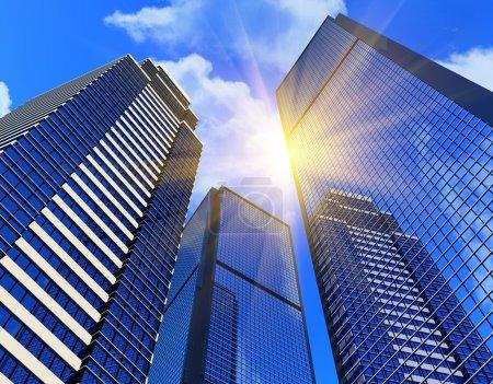edifici business moderno