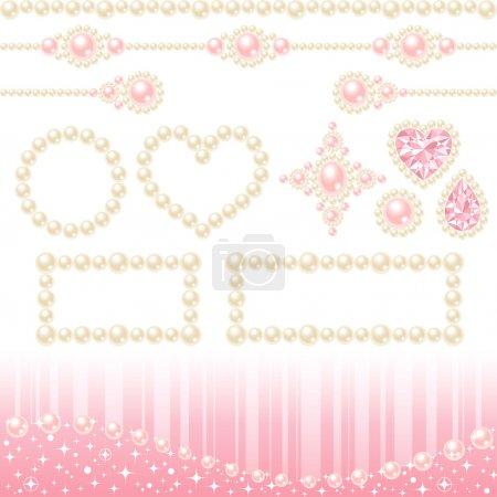 Perle di collana decorativa