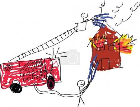 Immagine pompiere <br>