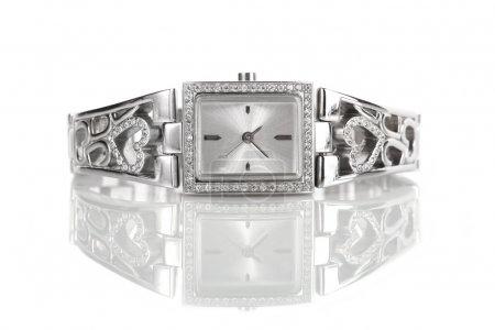 orologio da polso argento donna con...