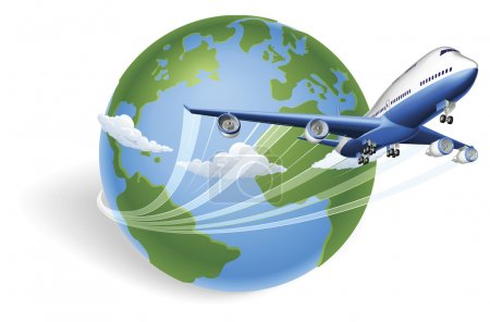 Concetto globo aereo