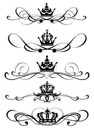 pergamene vittoriane e corona