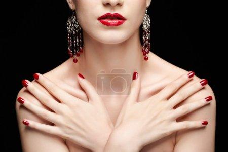 bella donna bruna<br>