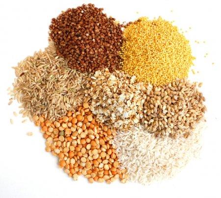 Diversi tipi di grano