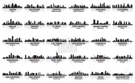 incredibile serie di skyline della ...