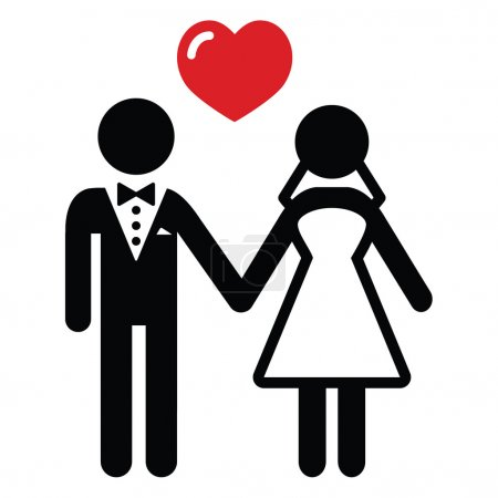 icona di coniugi nozze